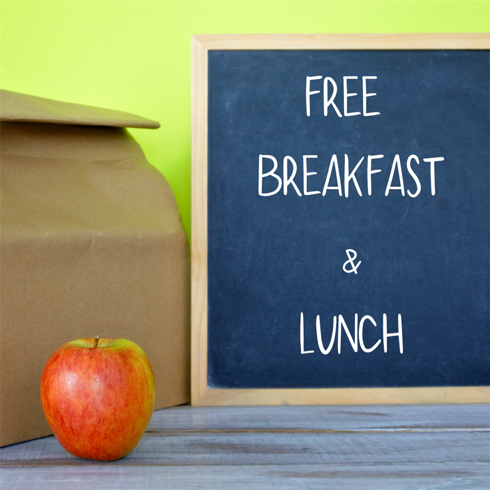Free Breakfast & Lunch For All